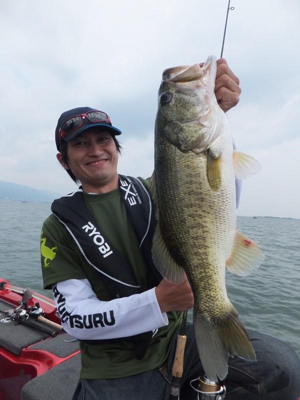 琵琶湖で釣れる
