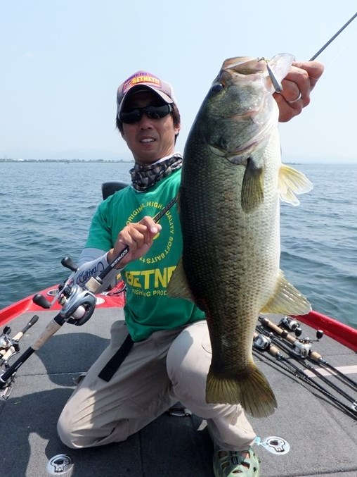琵琶湖で釣れる直リグ